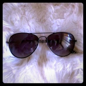 "DIFF Eyewear ""Cruz"" Aviator Sunglasses"